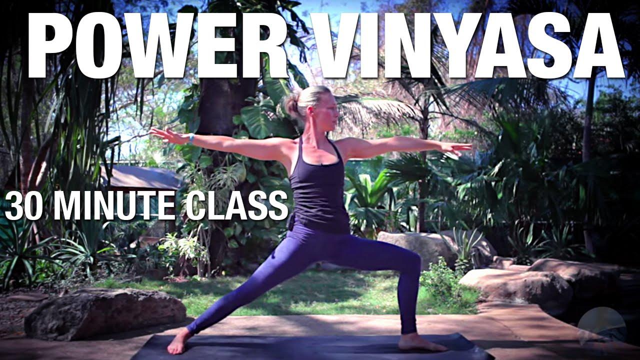 30 Minute Power Vinyasa Yoga Class - Five Parks Yoga