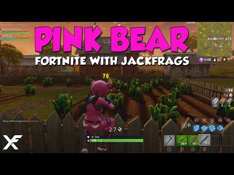 PINK POWER COUPLE - Fortnite Duo's with Jackfrags