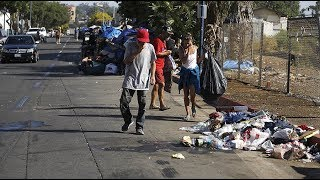Downtown LA: high vacancy rates leads to catastrophic homelessness
