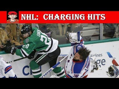 NHL Charging Hits