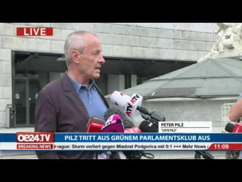 Peter Pilz Pressekonferenz 14. Juli 2017
