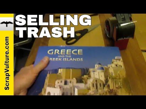 Selling DUMPSTER DIVE GARBAGE on eBay & Amazon - Dumpster Diving for Treasure & Scrap Metal