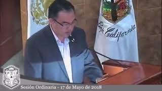 Congreso del Estado, Sesión Ordinaria 17 de mayo 2018