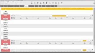 how to setup flight mode switches in cleanflight