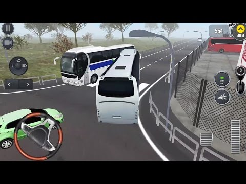 Coach Bus Simulator 2017 #7 LET'S GO TO AMSTERDAM - Android gameplay
