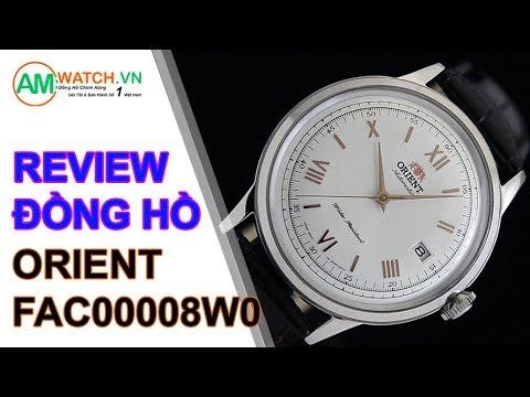 Đánh giá đồng hồ Orient FAC00008W0 - AMwatch.vn