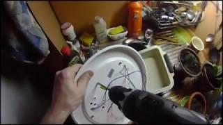 День 81 услуга Муж на час, замена блока выключателей и розетки для санузла
