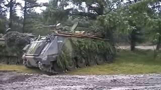 Manöver Dänische Armee Truppenübungsplatz Oksbol November 2002 Leopard 1 DK M113 G3 Army Teil 6