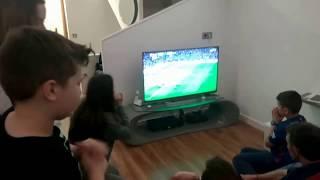 Gol de Sergi Roberto  Barça vs PSG 6-1