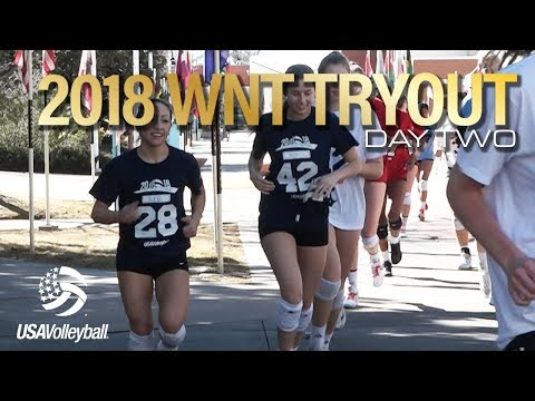 2018 Women's National Team Tryout | Day Two