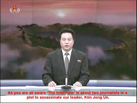 North Korean News Report on the Release of Seth Rogen's 'Interview' Movie (A PARODY)