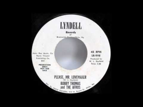 BOBBY THOMAS And The AFROS  FUNK 45 Please, Mr. Lovemaker