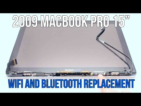"""Wifi WLAN Airport Antenna for Macbook Pro 15/"""" A1286 Mid-2009"""