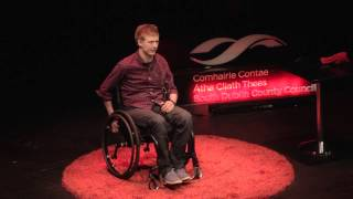 Fearless like a child -- overcoming adversity | Jack Kavanagh | TEDxTallaght