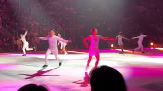 US ice Skating team on tour with Stars on Ice