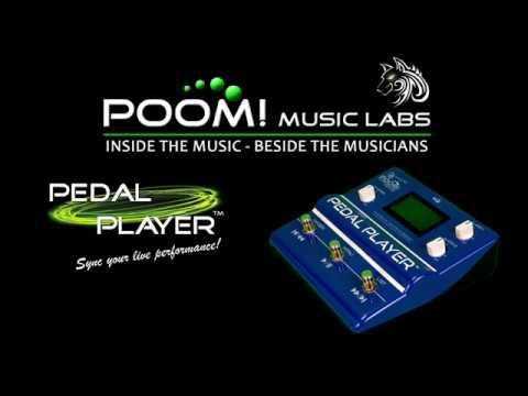 POOM! Music Labs - PEDAL PLAYER Trailer (ITA)