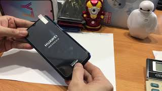 Huawei y7 pro 2019 Tempered glass clear 2.5D 9H