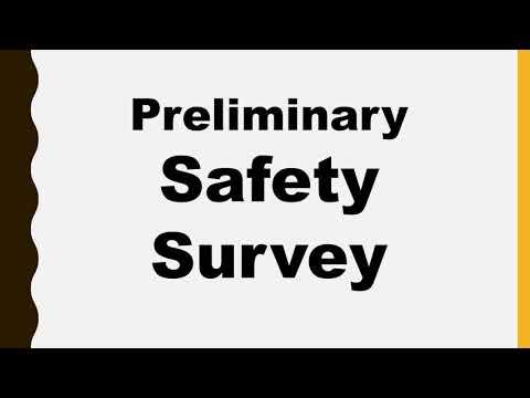 1003 SAFETY SURVEY