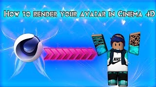 How to render your roblox avatar on Cinema 4D