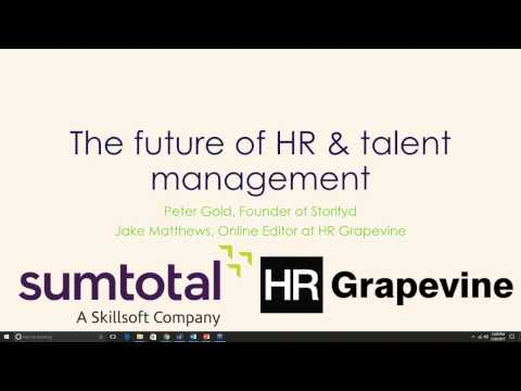 The Future of HR and Talent Management