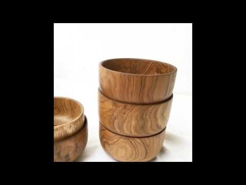 Wholesale Wooden Decorative Bowl Indonesia Supplier