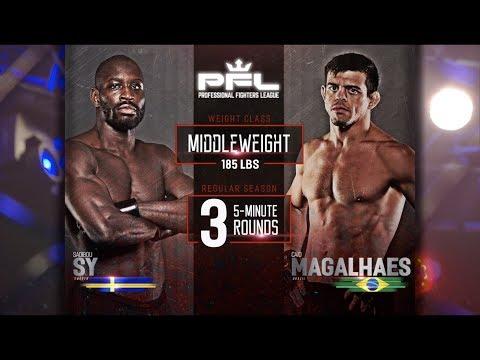 Sadibou Sy Vs Caio Magalhaes Full Fight | PFL 7 2018