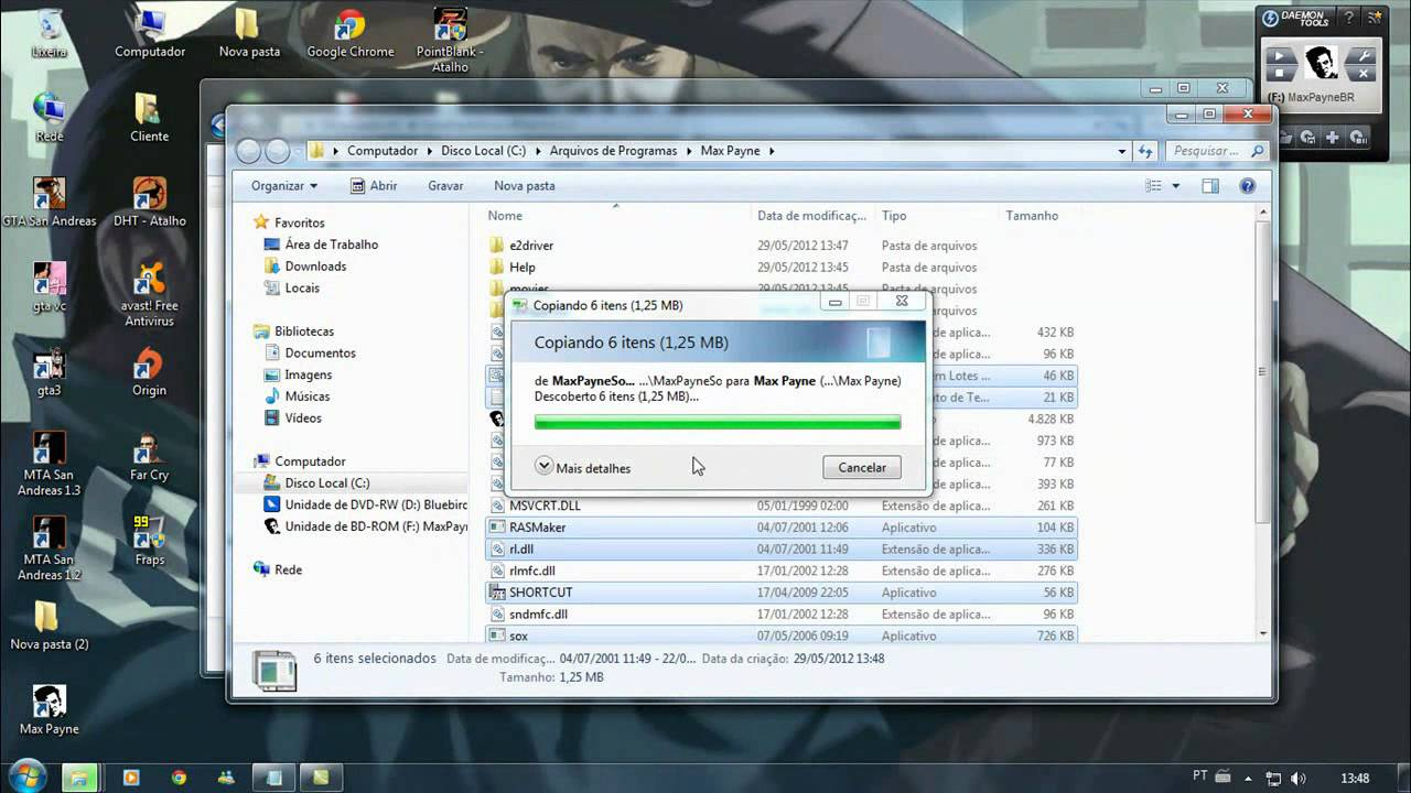 how to run max payne on windows 7