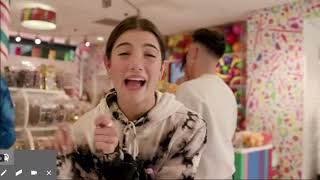 Charlie and her friends took over a candy store for a day (not full video)