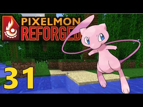 31 a wild mew appears pixelmon reforged gameplay