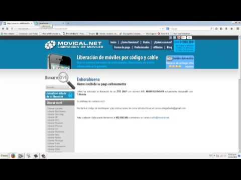 Liberar zte z667 t mobile en movical net youtube - Movical net liberar ...