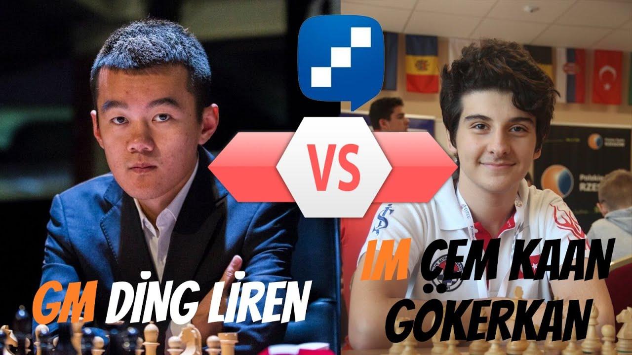 Dünyanın 3 Numarası Karşısında Cem Kaan Ne Yapacak ? | Ding Liren vs Cem Kaan Gökerkan (2020)