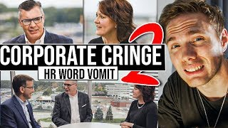 Corporate Cringe 2   HR Word Vomit #grindreel #roadto100k