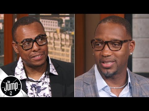 Paul Pierce, Tracy McGrady love what Kobe Bryant wrote about them in new book | The Jump