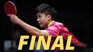 Lin Yun-Ju Vs Yang Heng-Wei   MT-FINAL   2021 Taiwan University Games