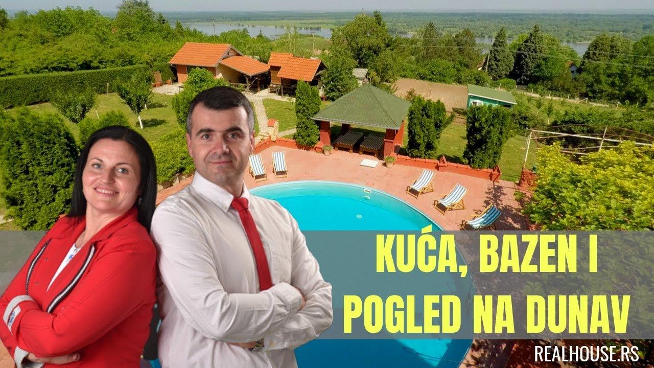 Kuca Sa Bazenom I Panoramskim Pogledom Na Dunav Realhouse Rs Kuce Prodaja Youtube