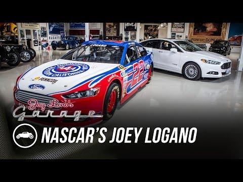Jay Interviews NASCAR Driver Joey Logano - Jay Leno's Garage