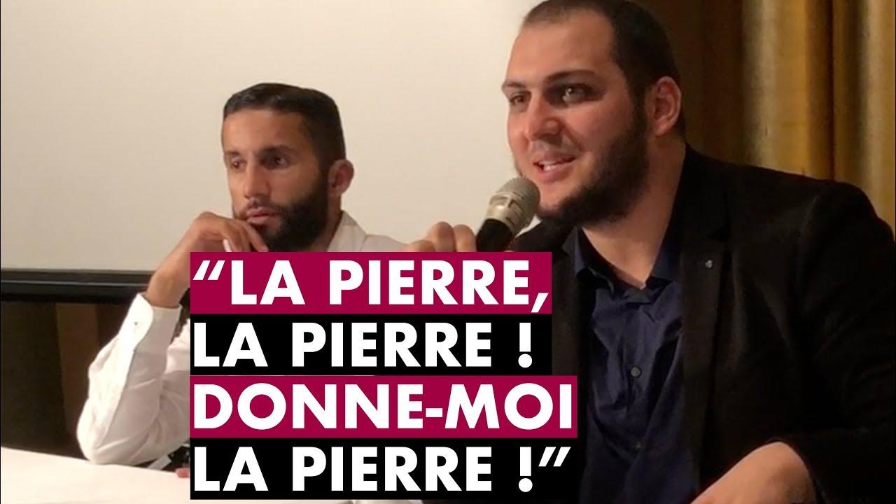 """""""LA PIERRE, LA PIERRE ! DONNE-MOI LA PIERRE !"""" - IMAM BOUSSENNA"""