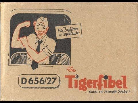 Tigerfibel ww2 nazi tiger tank manual.