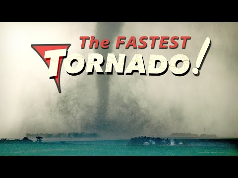 FASTEST MOVING TORNADO - New World Record