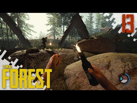 THE FOREST (HARD MODE) - EP13 - Molotovs!