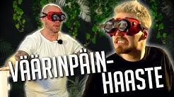 VÄÄRINPÄIN HAASTE feat. Hannes Hyvönen   Arjen Haasteet