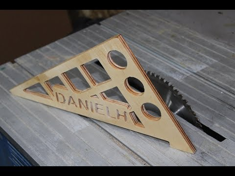Diresta inspired table saw push sticks - diy cnc woodworking project