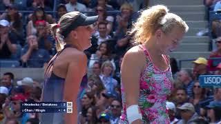WATCH: Highlights Hingis / Chan def. Hradecka / Siniakova
