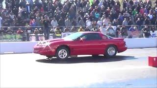 Pontiac Firebird Trans Am vs Import World Cup Finals Track Action