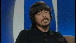 Dave Grohl on Enough Rope Part 1 of 3