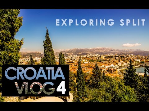 Croatia Travel Vlog 4 - Exploring Split