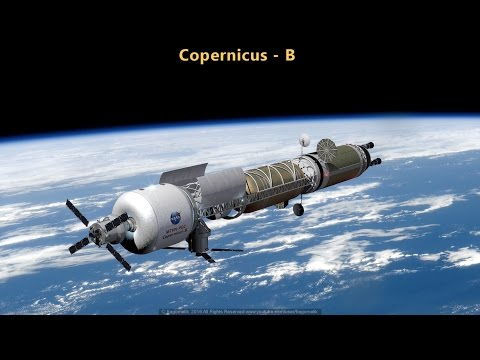 Copernicus-B: A Bi-modal Nuclear-Thermal Mars Transfer Vehicle