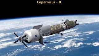 Copernicus-B: A Bi-modal Nuclear-Thermal Mars Transfer Vehicle