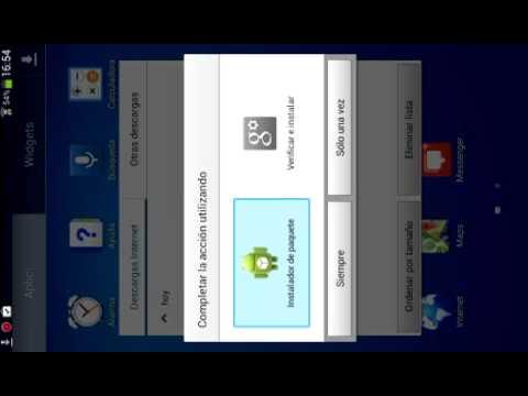 Como descargar  whatsapp parasansumg galaxy tab 3