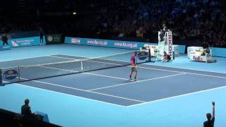 Rafael Nadal argue with the umpire ATP World Tour Finals HD